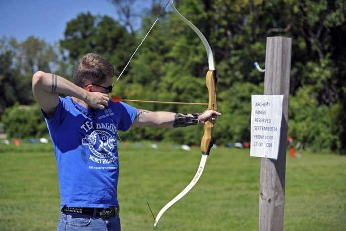 How To Aim a Recurve Bow without sight