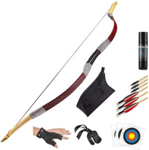 KAINOKAI Traditional Handmade Hunting Recurve Archery Bow