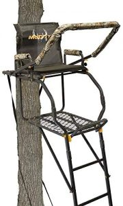 Muddy Outdoors Excursion Ladder Stand Black