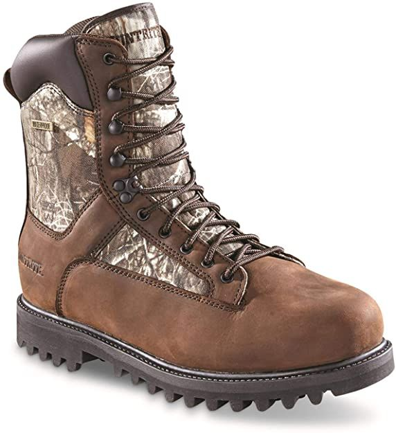 Huntrite Men's Insulated Waterproof Hunting Boots